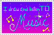 drawin music stamp by BlueLink
