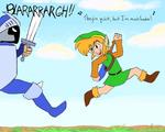 Link's One Jump Ahead