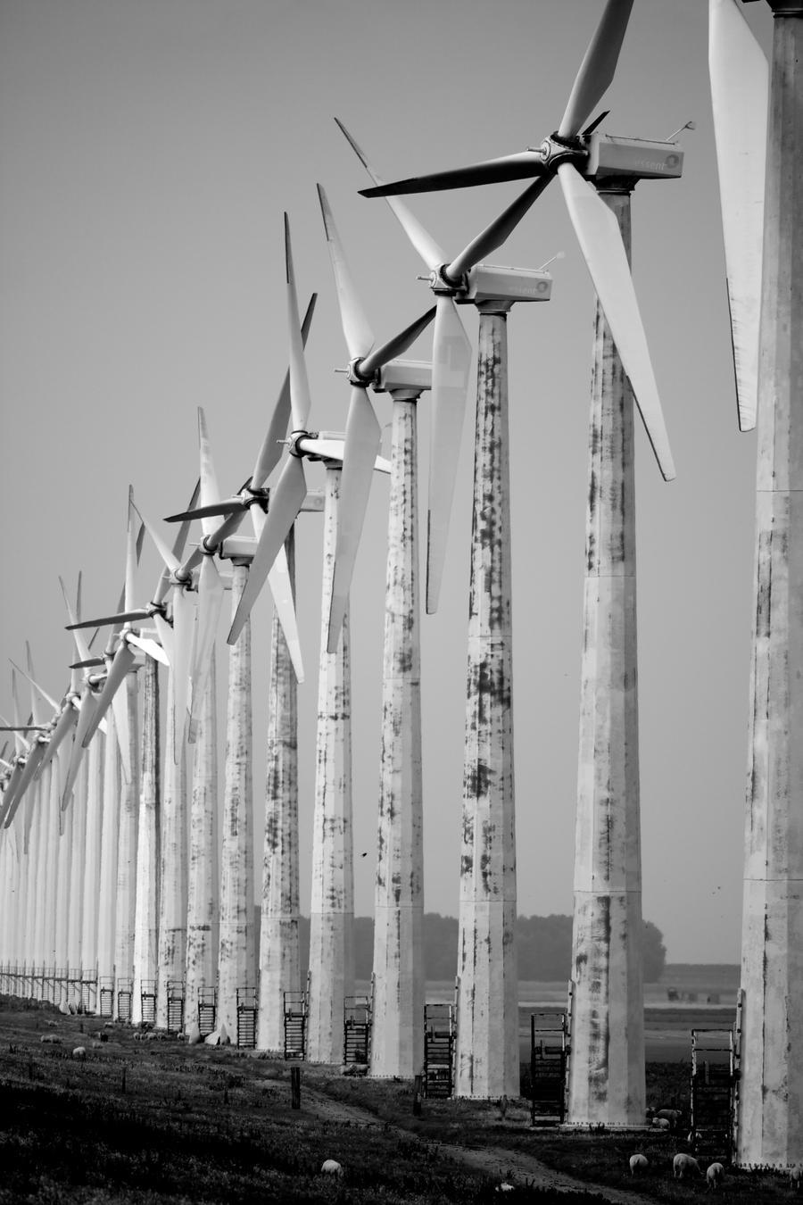 Wind farm by Intrepidity87