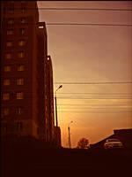 last summer sunset by MissLumikki