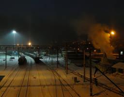Railways by MissLumikki