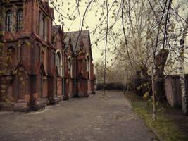 Organ Hall backyard by MissLumikki