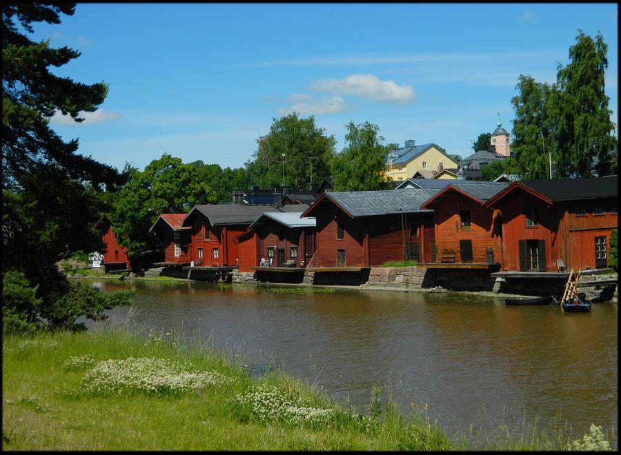 Classic Porvoo view by MissLumikki
