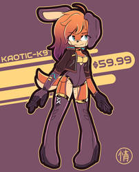 Adoptable - Kaotic-K9 (open)
