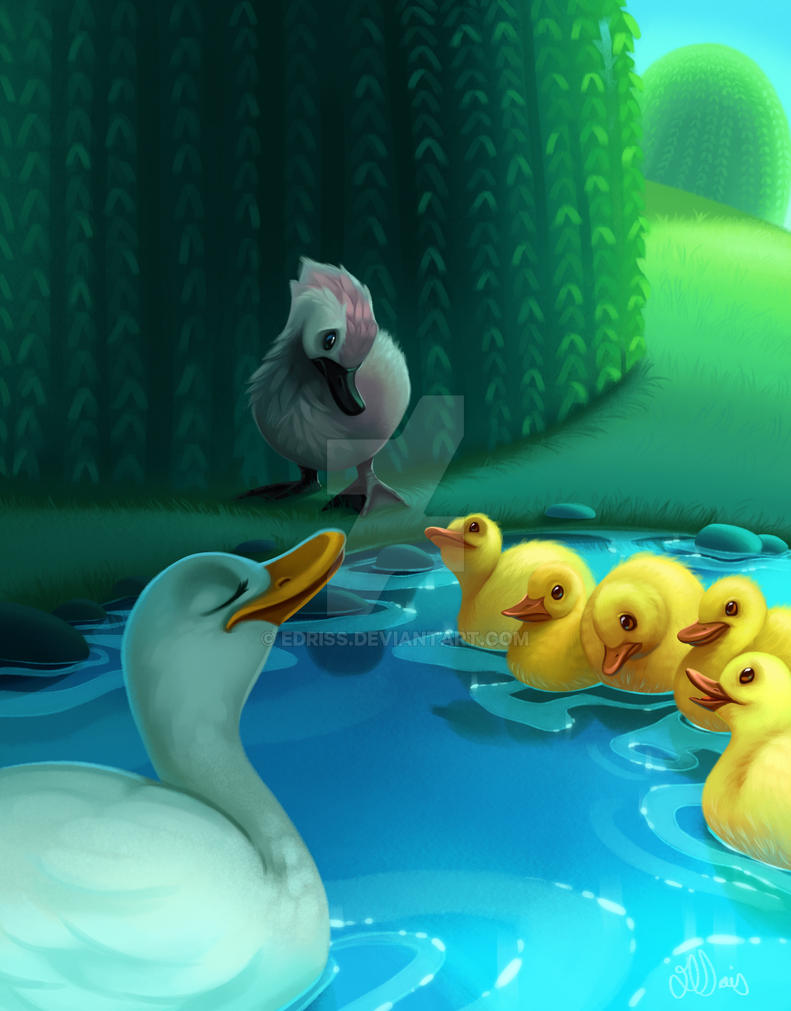 ugly duckling by edriss on deviantart