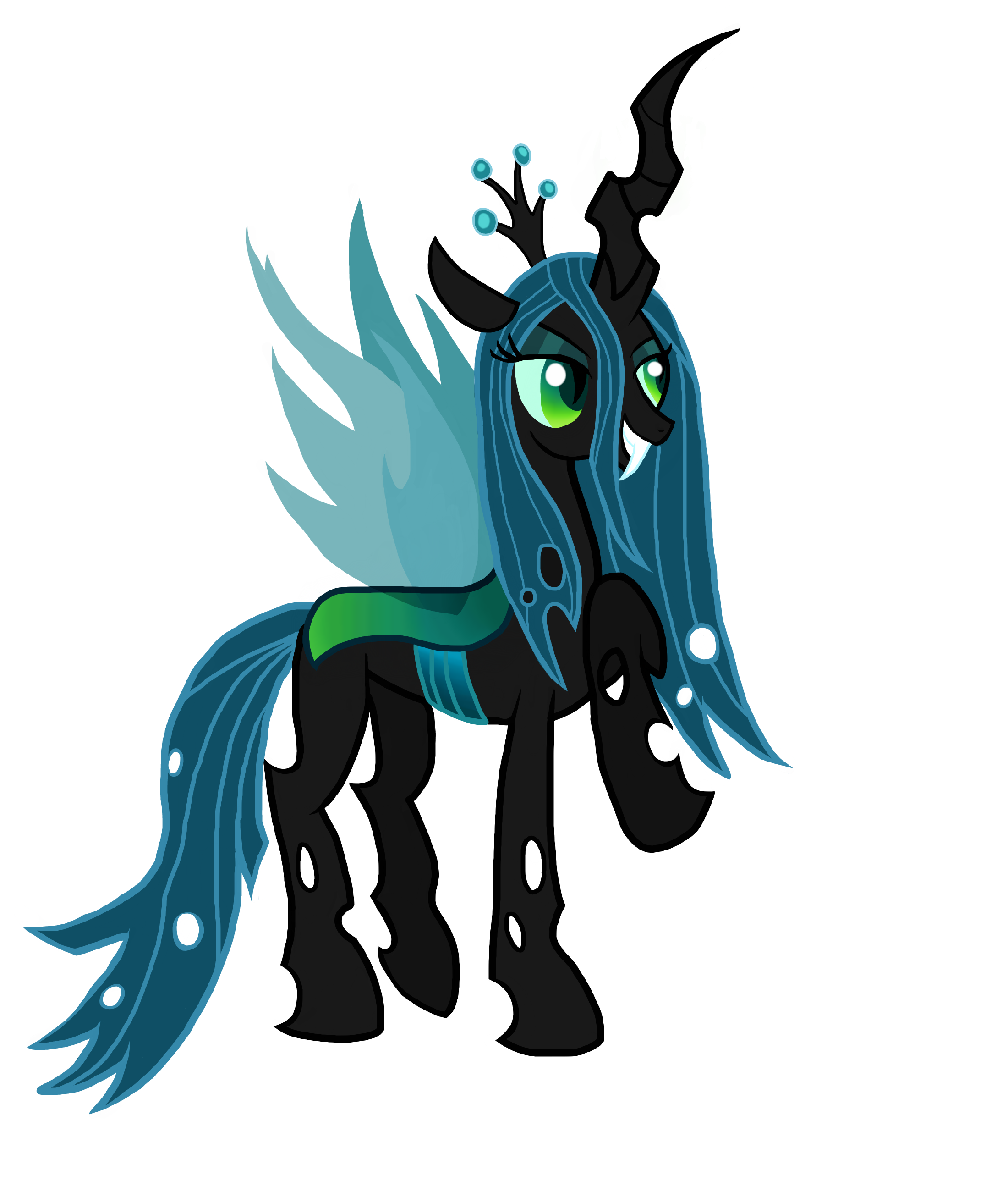 queen chrysalis hipster - photo #24