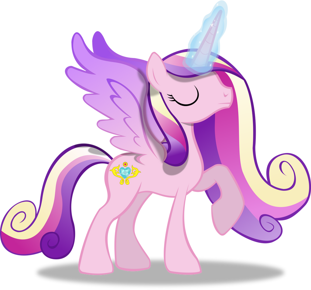 Princess Mi Amore Cadenza (With Magic) by TheShadowStone