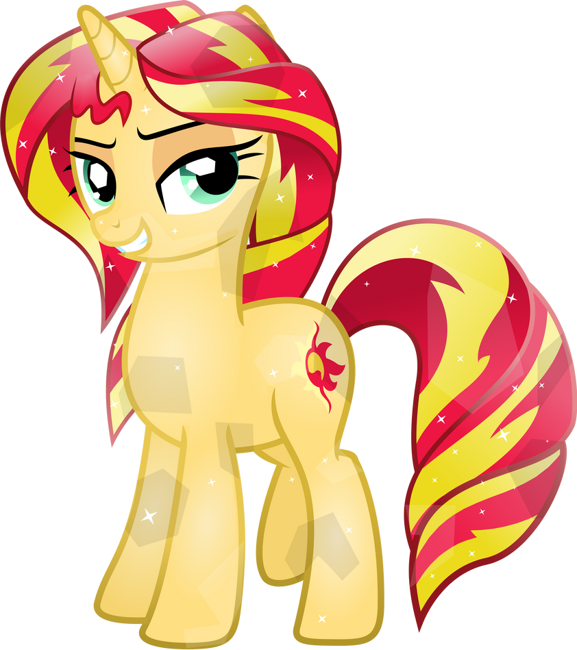 Crystal Sunset Shimmer