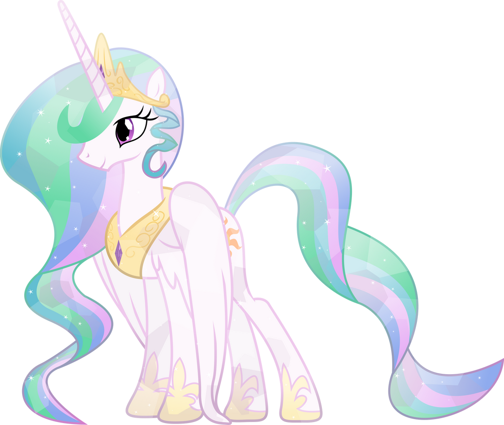 Crystal Princess Celestia by TheShadowStone
