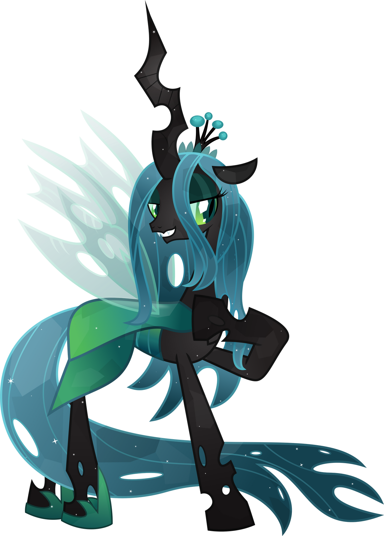 Crystal Queen Chrysalis by TheShadowStone on DeviantArt