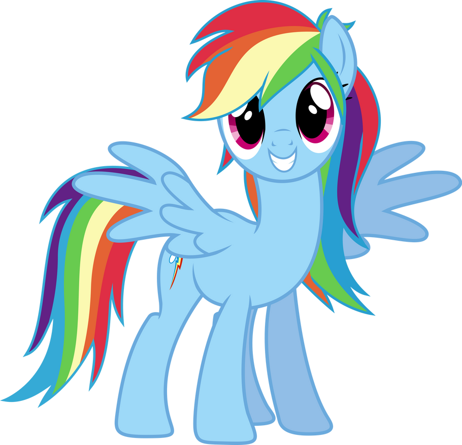 Rainbow Dash Always Brushies With Style. by TheShadowStone