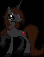 Darth Demostress Pony by TheShadowStone