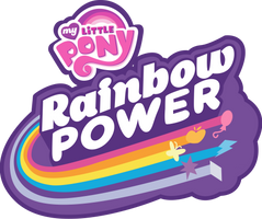 [Spoilers] MLP: FIM: Rainbow Power Logo by TheShadowStone