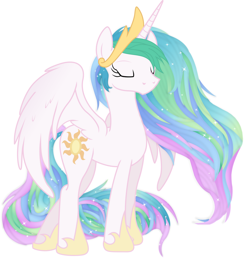 Princess Celestia by TheShadowStone