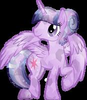 Crystal Princess Twilight Sparkle by TheShadowStone