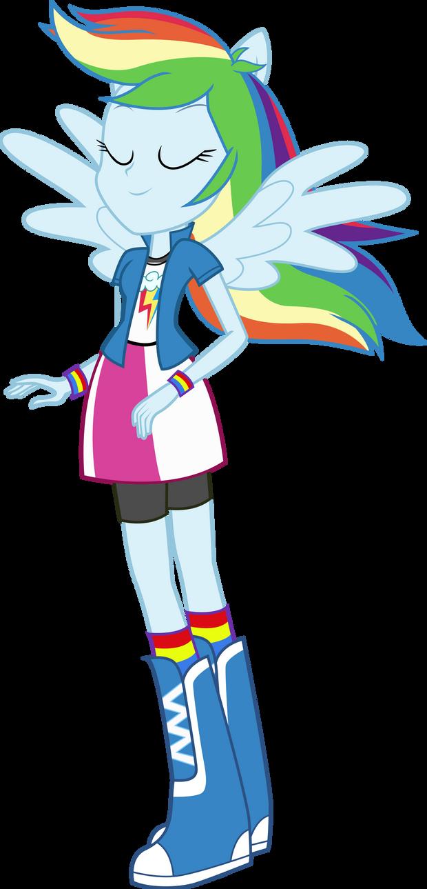 Equestria Girls: Rainbow Dash by TheShadowStone on DeviantArt