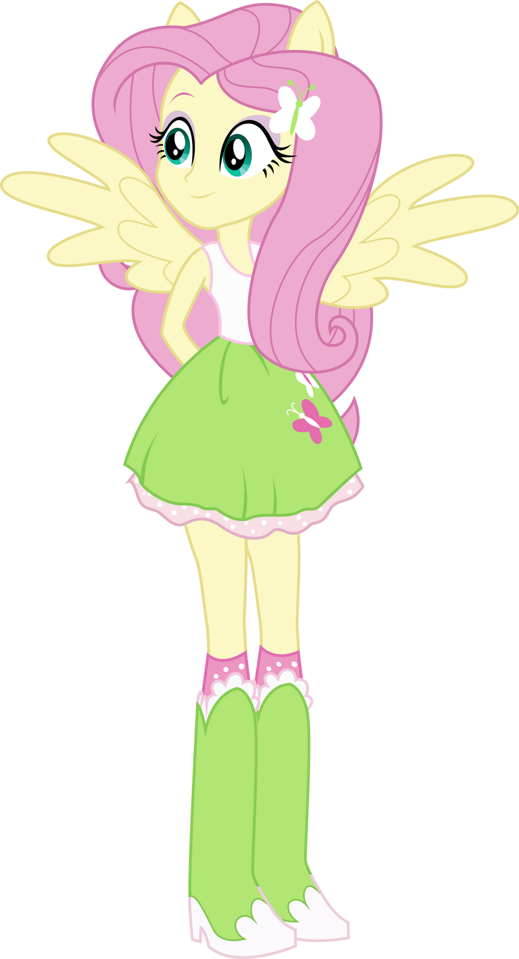 fluttershy equestria girl