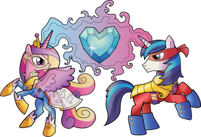 The Power Princess and Prince by TheShadowStone