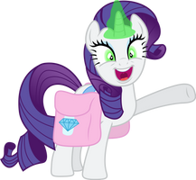 Crazy Eyed Rarity by TheShadowStone