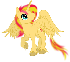Alicorn Sunset Shimmer by TheShadowStone