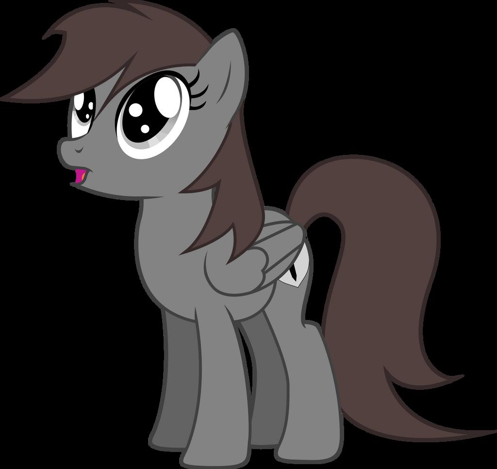 ShadowStone the Oooohhing Dark Chocolate Horse by TheShadowStone