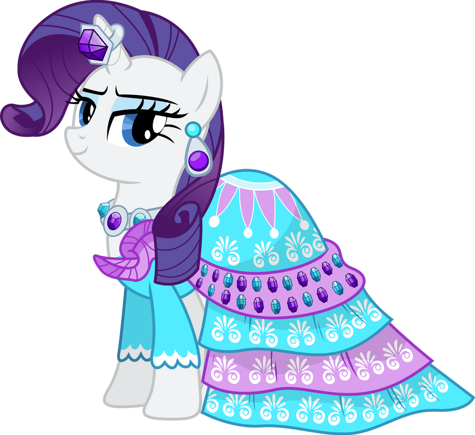 Rarity's Dress to Impress by TheShadowStone on DeviantArt