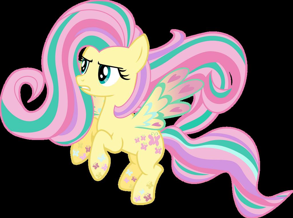 Rainbow Power: Fluttershy by TheShadowStone on DeviantArt