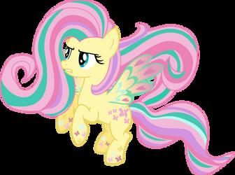 Rainbow Power: Fluttershy by TheShadowStone