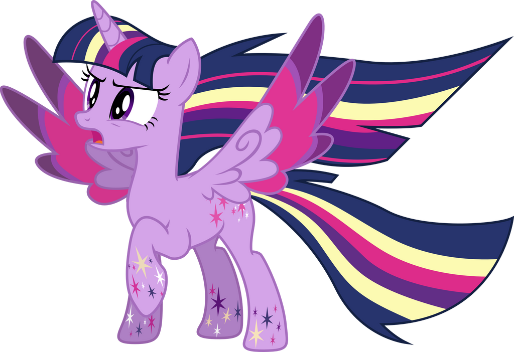Rainbow Power: Princess Twilight Sparkle by TheShadowStone