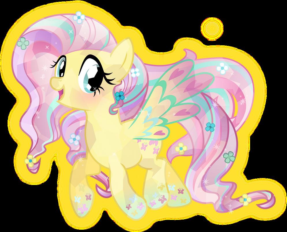 Rainbow Power: Crystal Fluttershy by TheShadowStone on ...