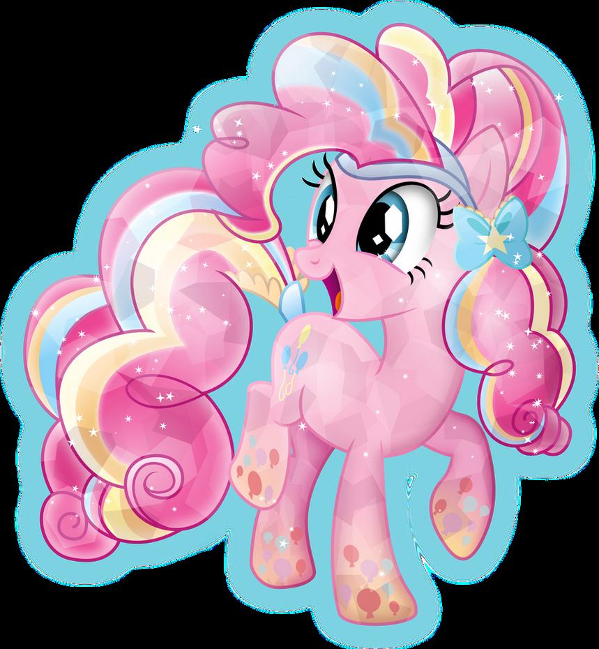 Rainbow Power: Crystal Pinkie Pie by TheShadowStone