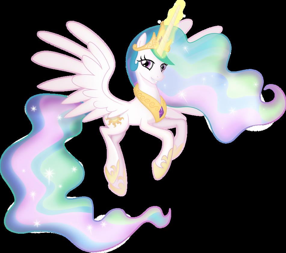 Princess Celestia [Shaded] by TheShadowStone