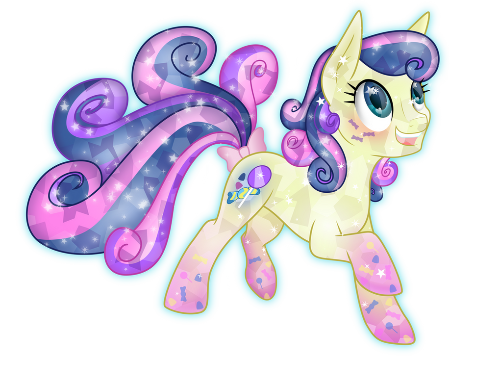 Crystal Rainbow Power Sweetie Drops by TheShadowStone