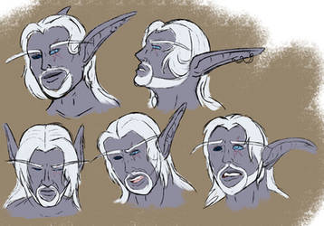 Anaruus expression practice by TheShadowStone
