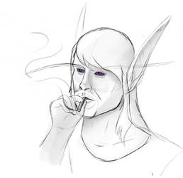 Don't smoke, kids. by TheShadowStone