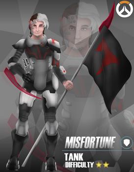 Overwatch Hero: Misfortune