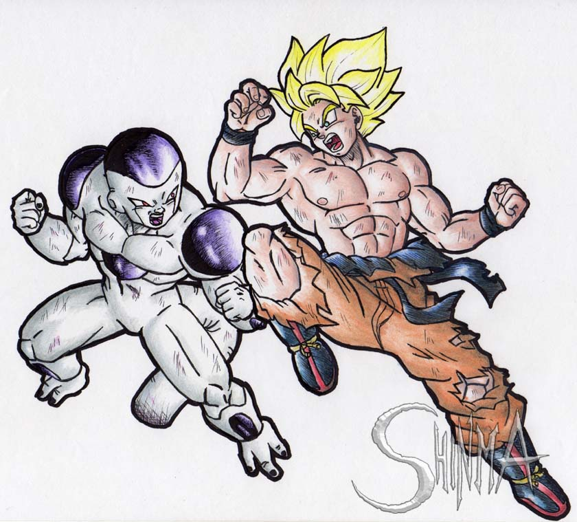DragonBall Z Desicive Battle by MatiasSoto