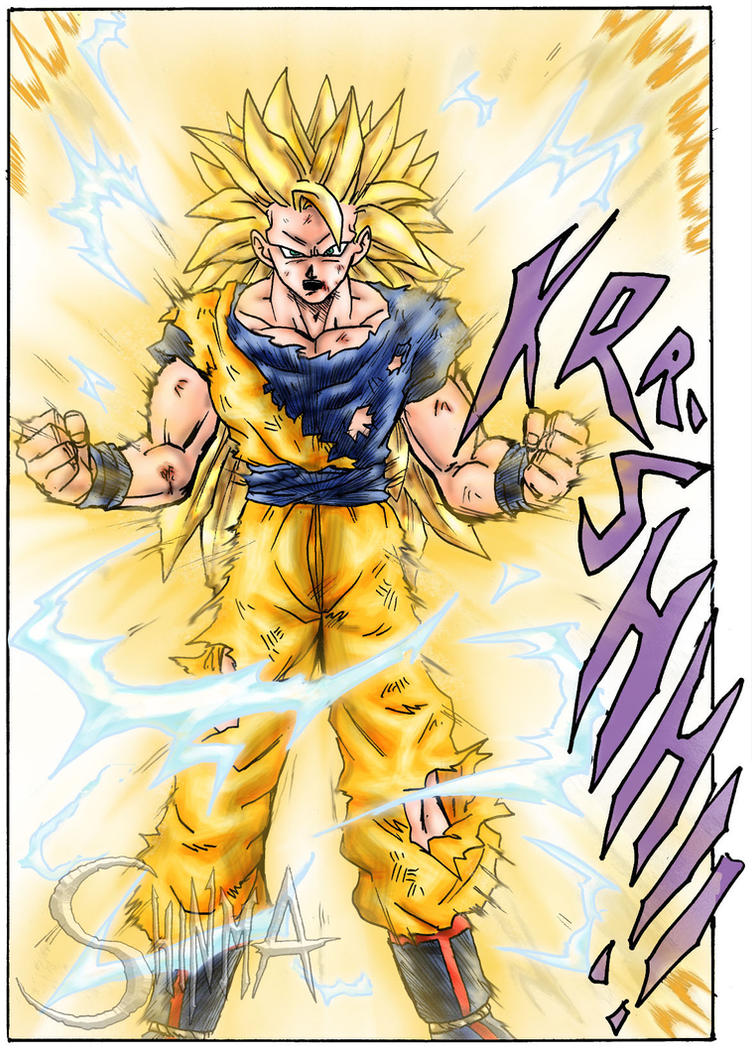 Super Saiya-jin 3 Son Goku by MatiasSoto
