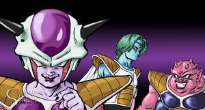Freeza's gang-Namek Saga