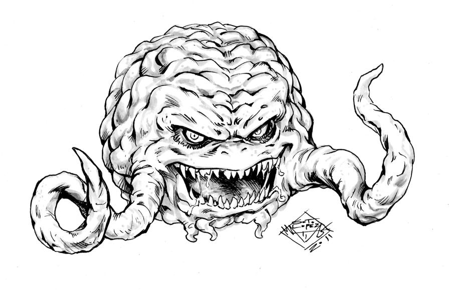 kraang coloring pages - photo#6