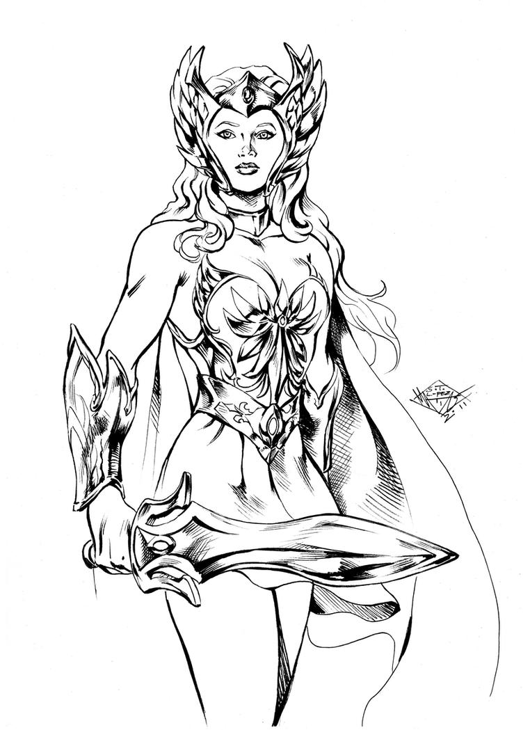 she ra coloring pages - photo#33