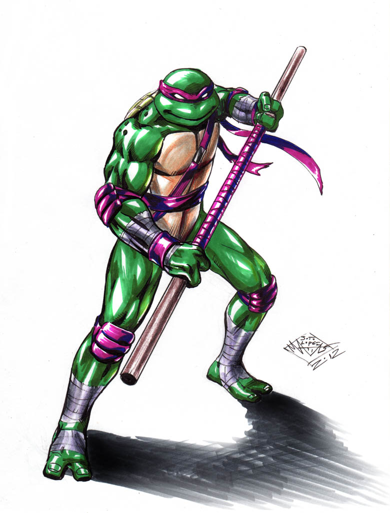 TMNT Donatello color by MatiasSoto on DeviantArt