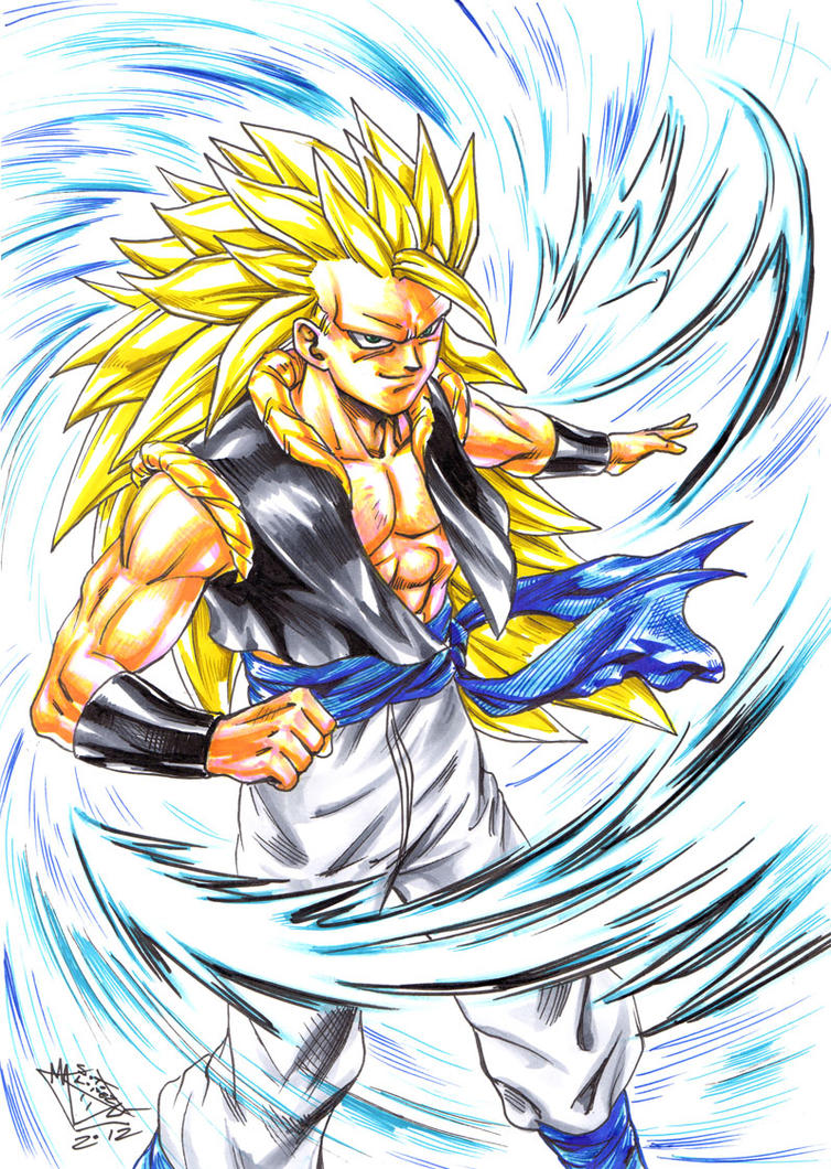 Gogeta super saiyan 3 by matiassoto on deviantart - Super sayen 10 ...