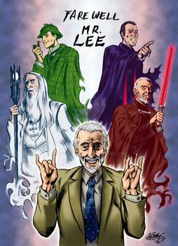 Christopher Lee tribute