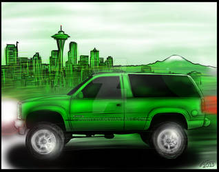 Eddie Green Seatown Chevy by jonnyyG