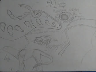 PhI Dragon Concept Sketching by Wolf24019
