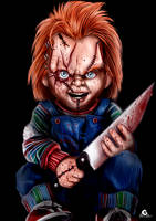 Chucky + Speed Paint by ArtAG95
