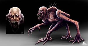 Metamorphosis, creature design (personal project)