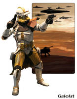 Clone Wars - Clone Commander by Galeart