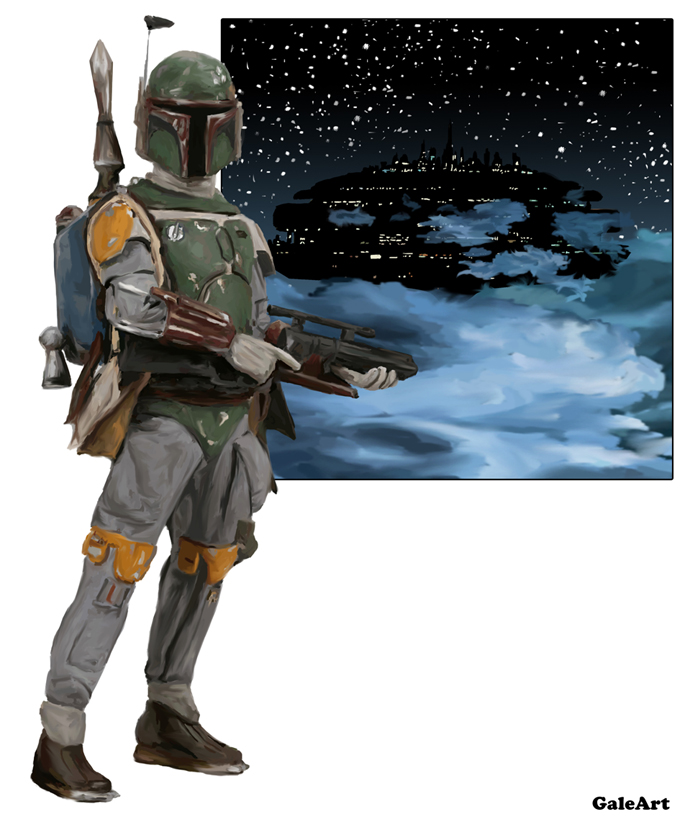Star Wars - Boba Fett by Galeart